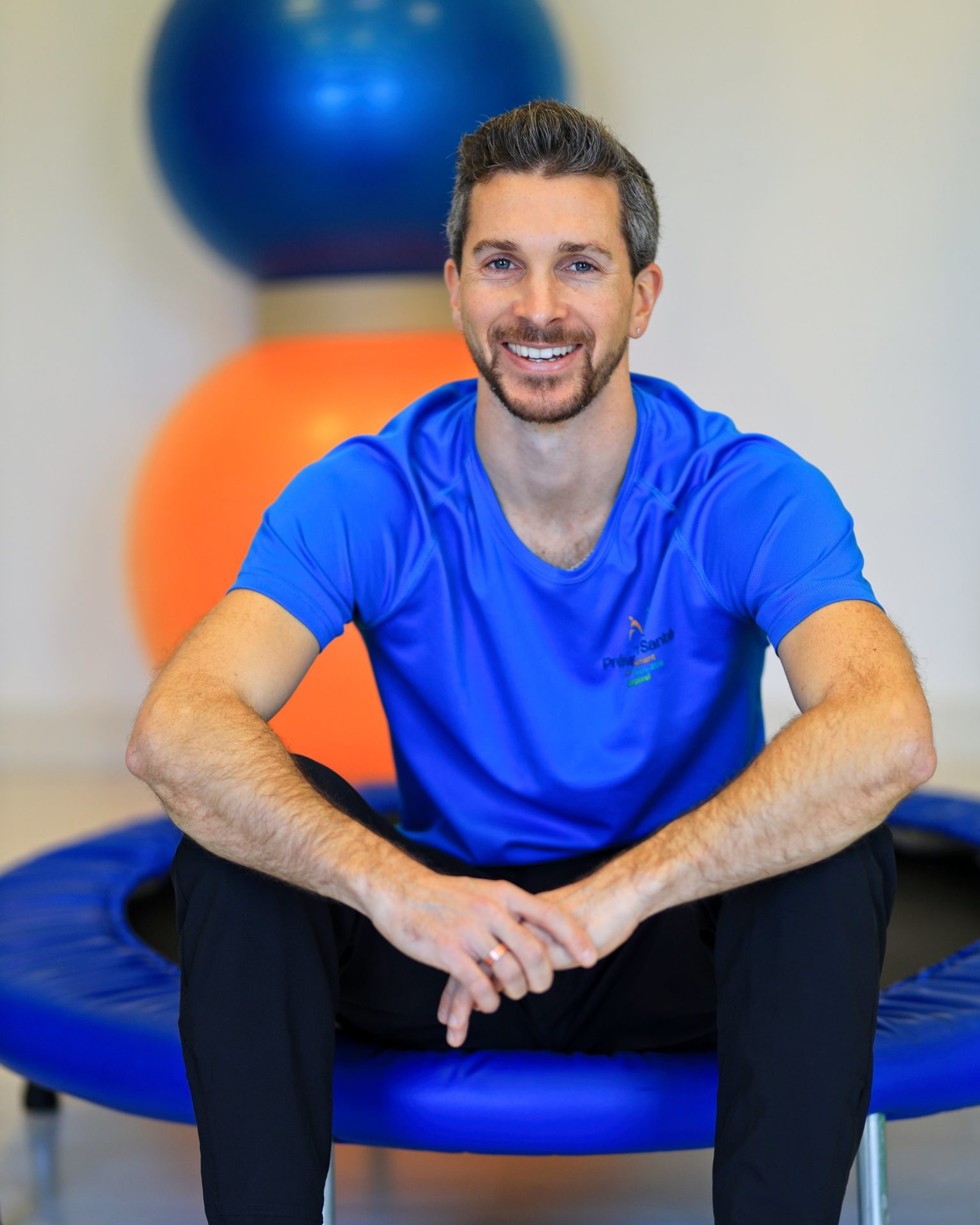Portrait professionnel à Lyon d'un coach sportif pour un article dans l'Equipe.fr