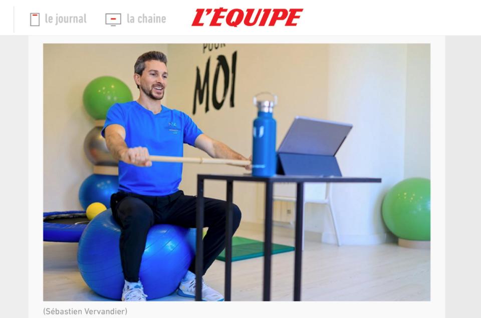 Portrait professionnel & reportage à Lyon pour le journal l'Equipe