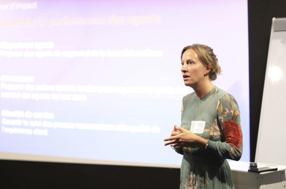 Image réalisée par un photographe événementiel à Lyon lors d'un Cocktail recrutement pour prioprioo