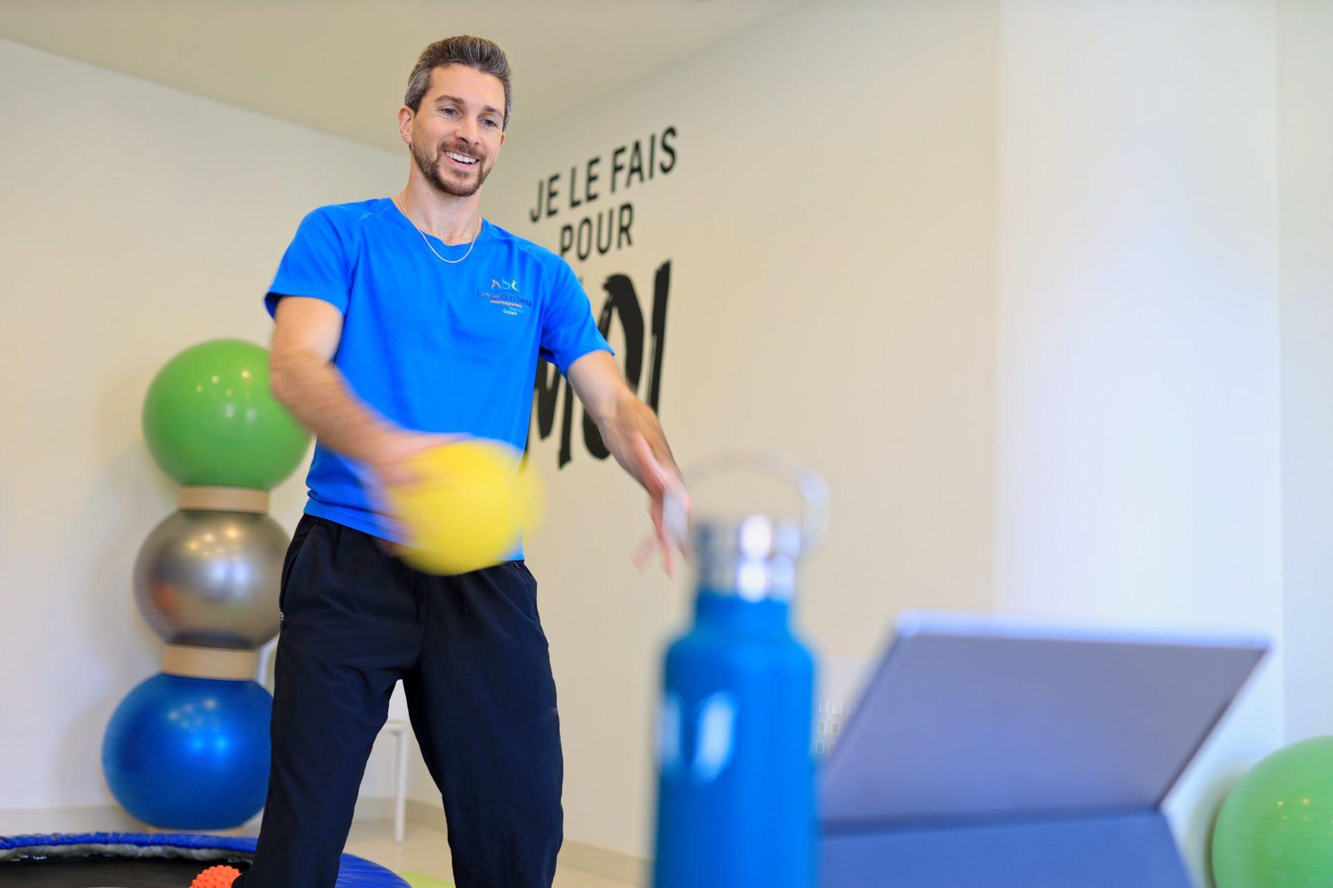 Photo Reportage à Lyon d'un coach sportif pour le journal l'Equipe